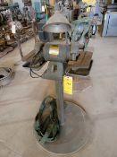 Baldor 500 Bench Grinder on Stand