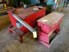 Parts Washer with Pneumatic Door Opener & Circulation Pump
