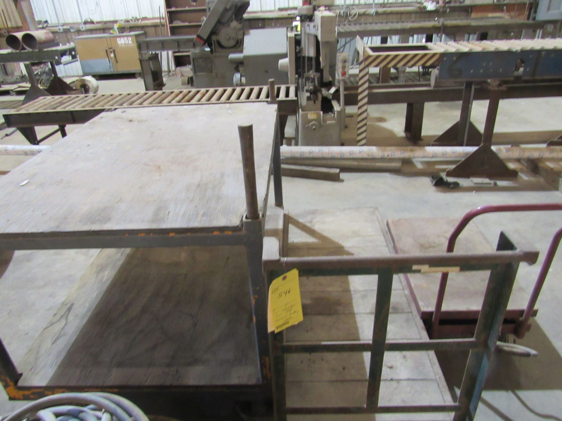 Lot: Shop Material Moving Carts - Image 2 of 2