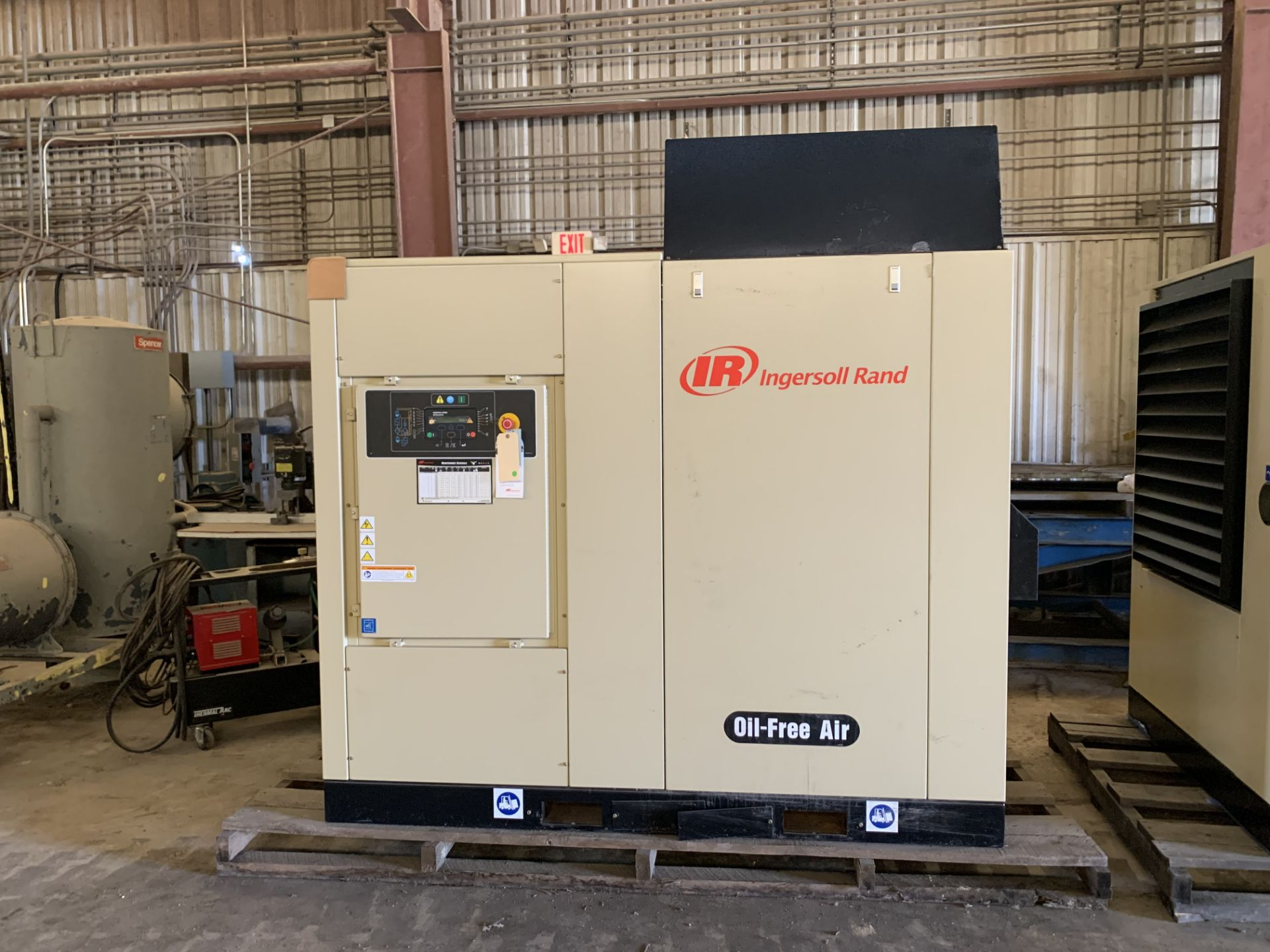 Ingersol-Rand Air Compressors - Image 3 of 6