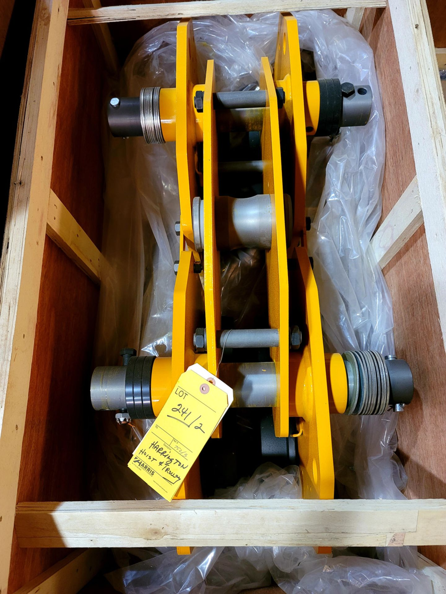 Harrington Hoist & Trolley, NEW in Crate