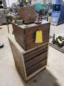Lista 5 Drawer Tool Cabinet with contents and pull drawers on top