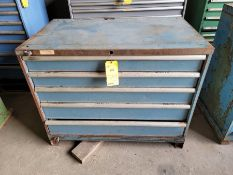 Lista 5 Drawer tool Cabinet with Contents