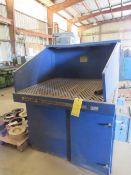 Downdraft Table with Donaldson 1600 S/N-49816 Dust Collector