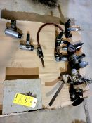 Lot of 11 Pneumatic Grinders