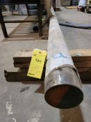 Lot of 2: (1) 35' Stainless Steel Solid Bar, (1) 15' Aluminum Tube