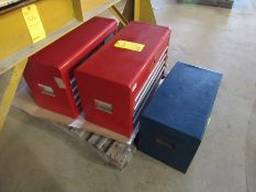Lot of 3: Tool Boxes