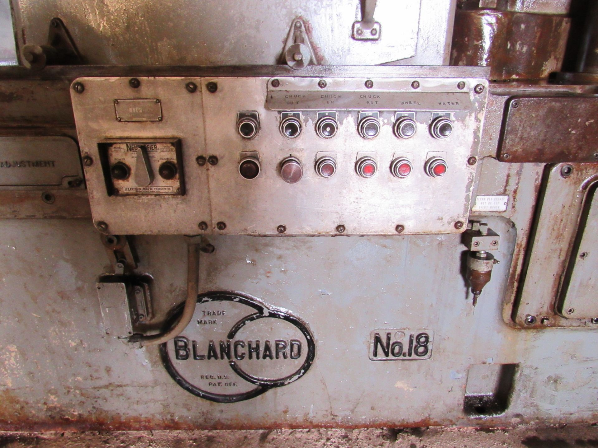 Blanchard No. 18 Rotary Surface Grinder - Image 4 of 6