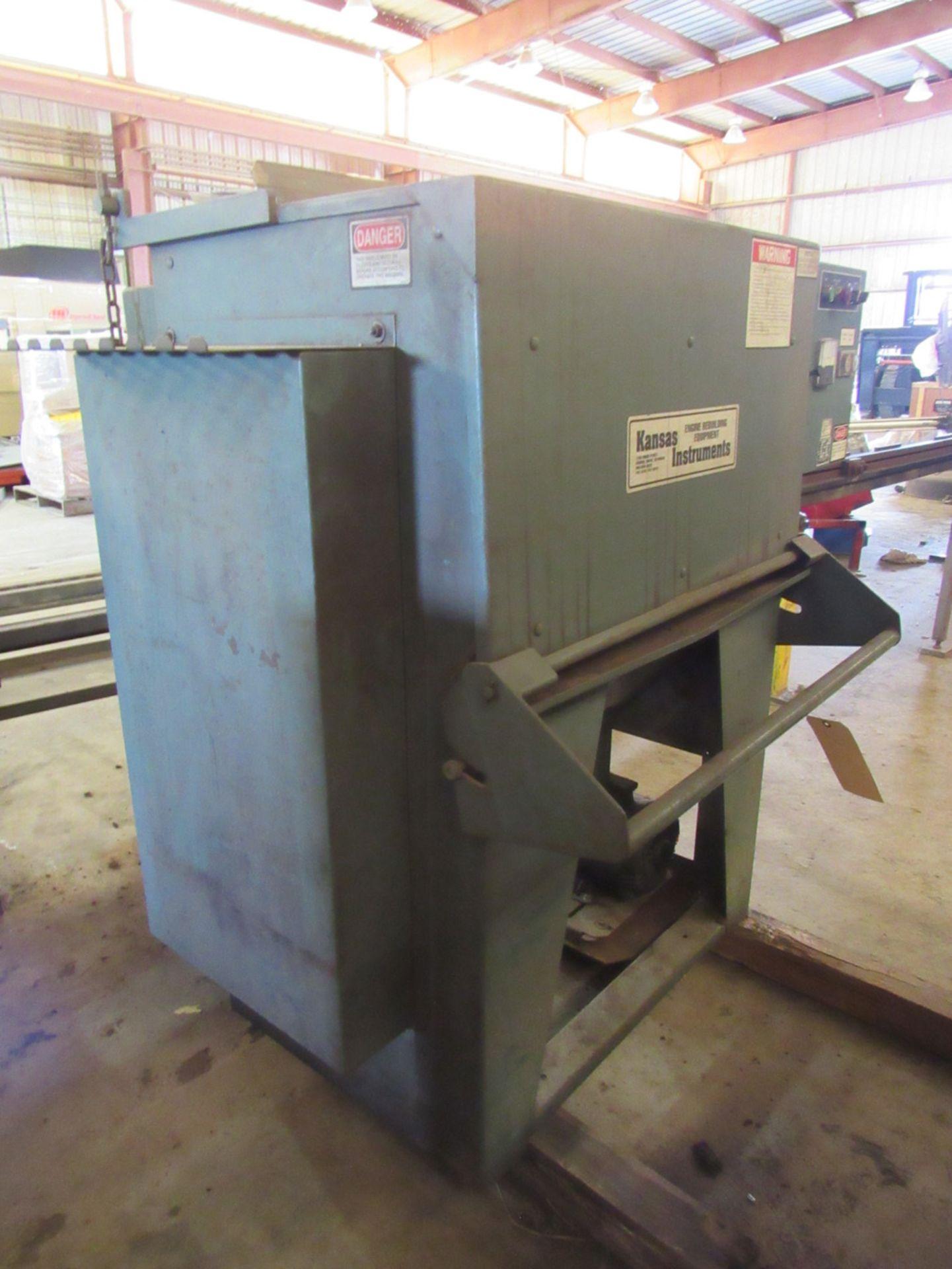 Kansas Instruments Model AB-502B Bake / Blast / Tumble Machine - Image 4 of 12