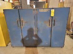 Heavy Duty 4-Door Metal Cabinet