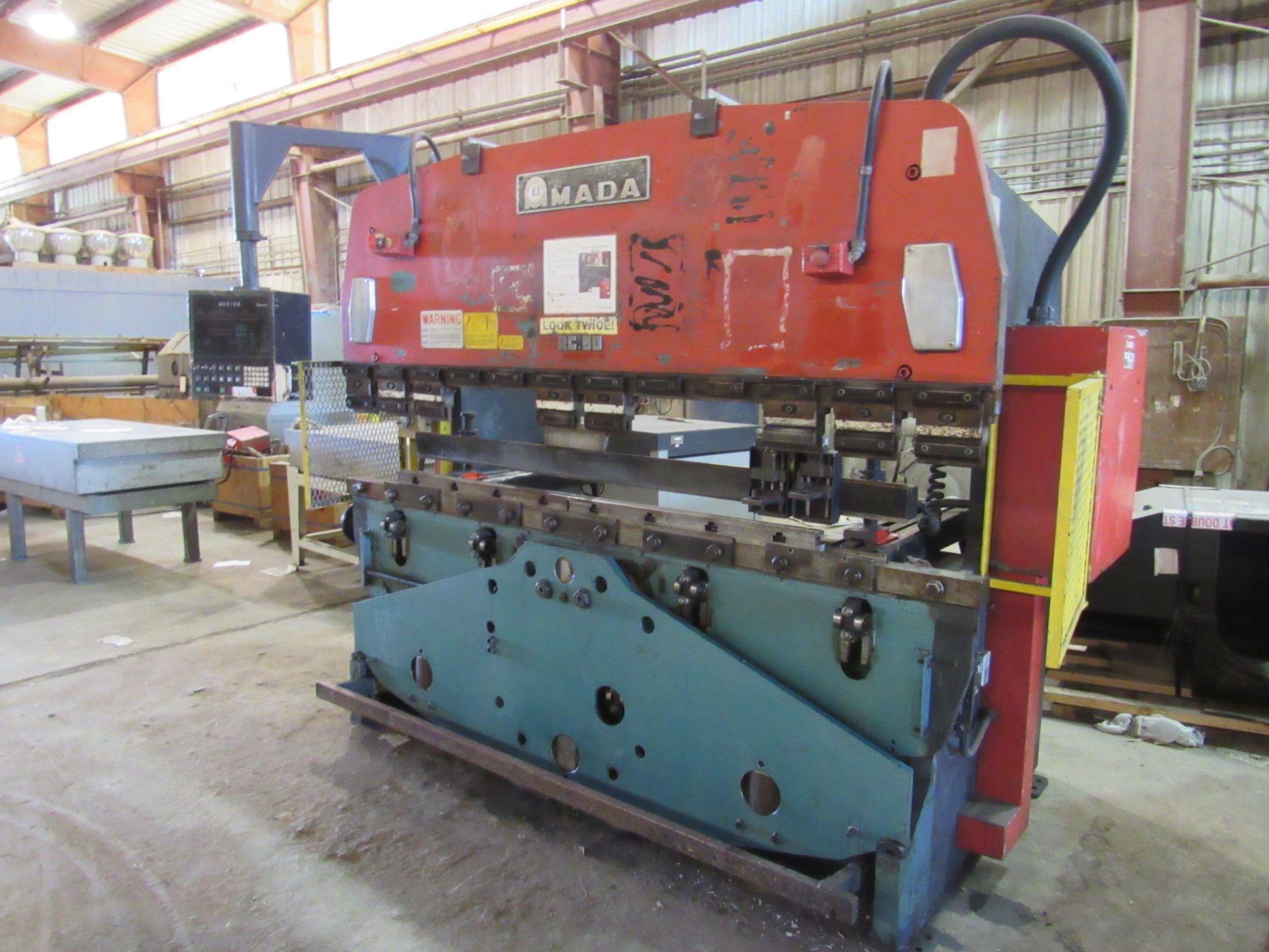 Amada 80 Ton RG 80 Press Brake - Image 3 of 7