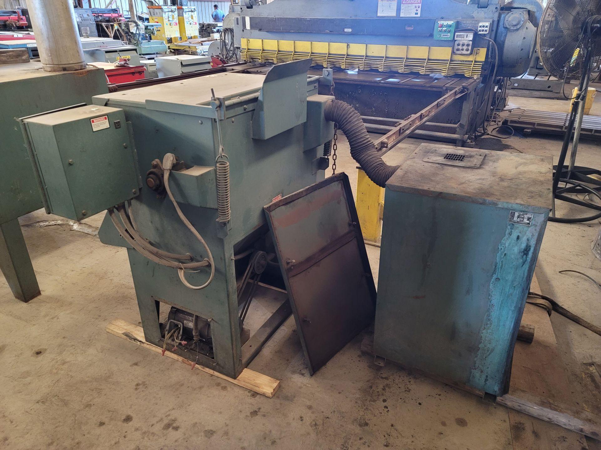 Kansas Instruments Model AB-502B Bake / Blast / Tumble Machine - Image 10 of 12