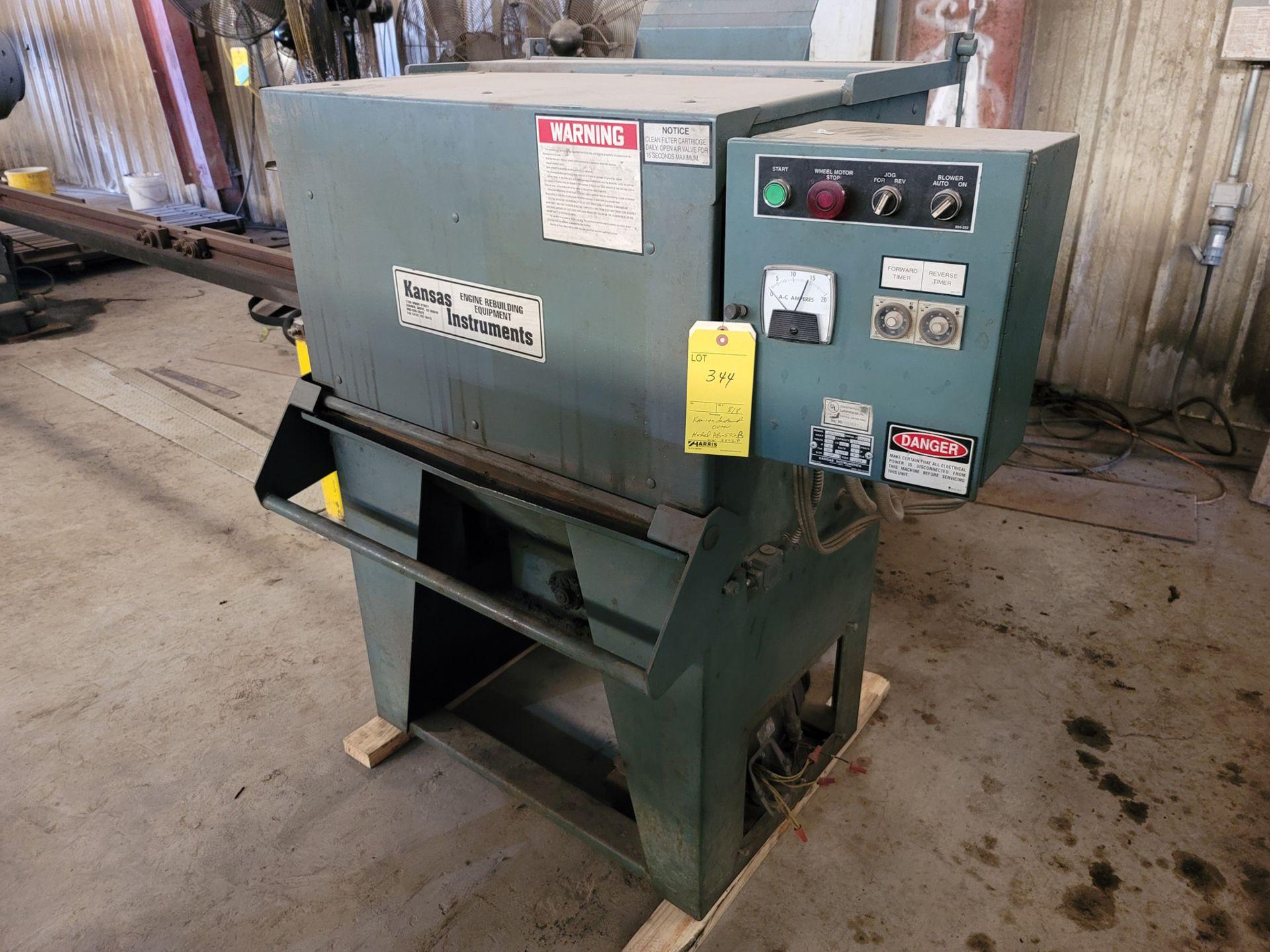 Kansas Instruments Model AB-502B Bake / Blast / Tumble Machine - Image 7 of 12