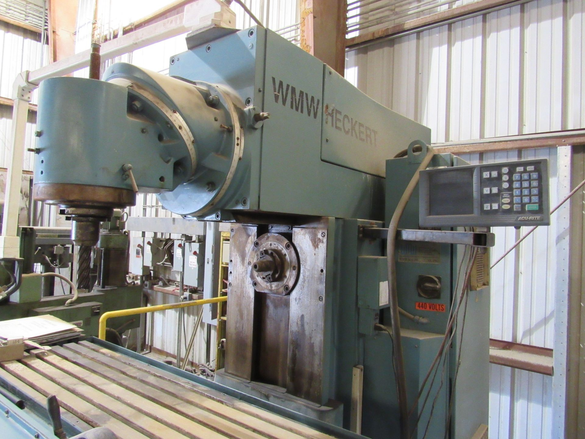 WMW Heckert Universal Mill - Image 4 of 7