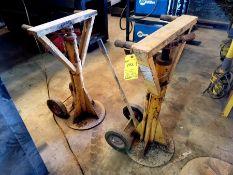 Set of Two Aldon Rachet Beam Type for Stabilizer Trailer Load
