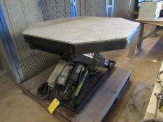 3500 Lb. Autoquip Model-36S60 Octagon Lift Table