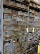 Lot of 5: Pull-out Drawer Cabinets with Contents