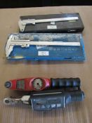 Lot of 2 Torque Wrenches + 2 Calipers