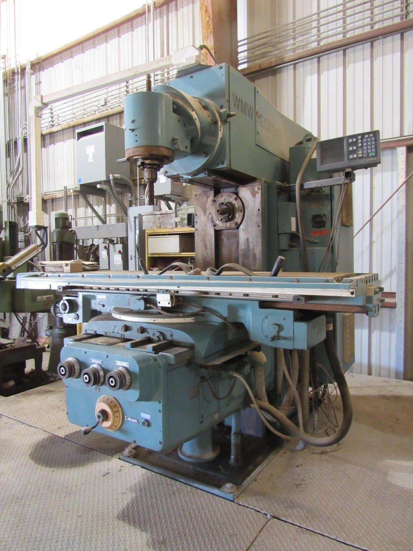 WMW Heckert Universal Mill - Image 2 of 7