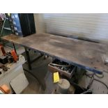 Lot of 3: Work Bench with Electrical Outlets