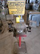 Skill Bench Grinder on Stand Single Phase