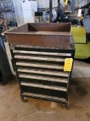 Lista 6 Drawer Tool Cabinet with Contents