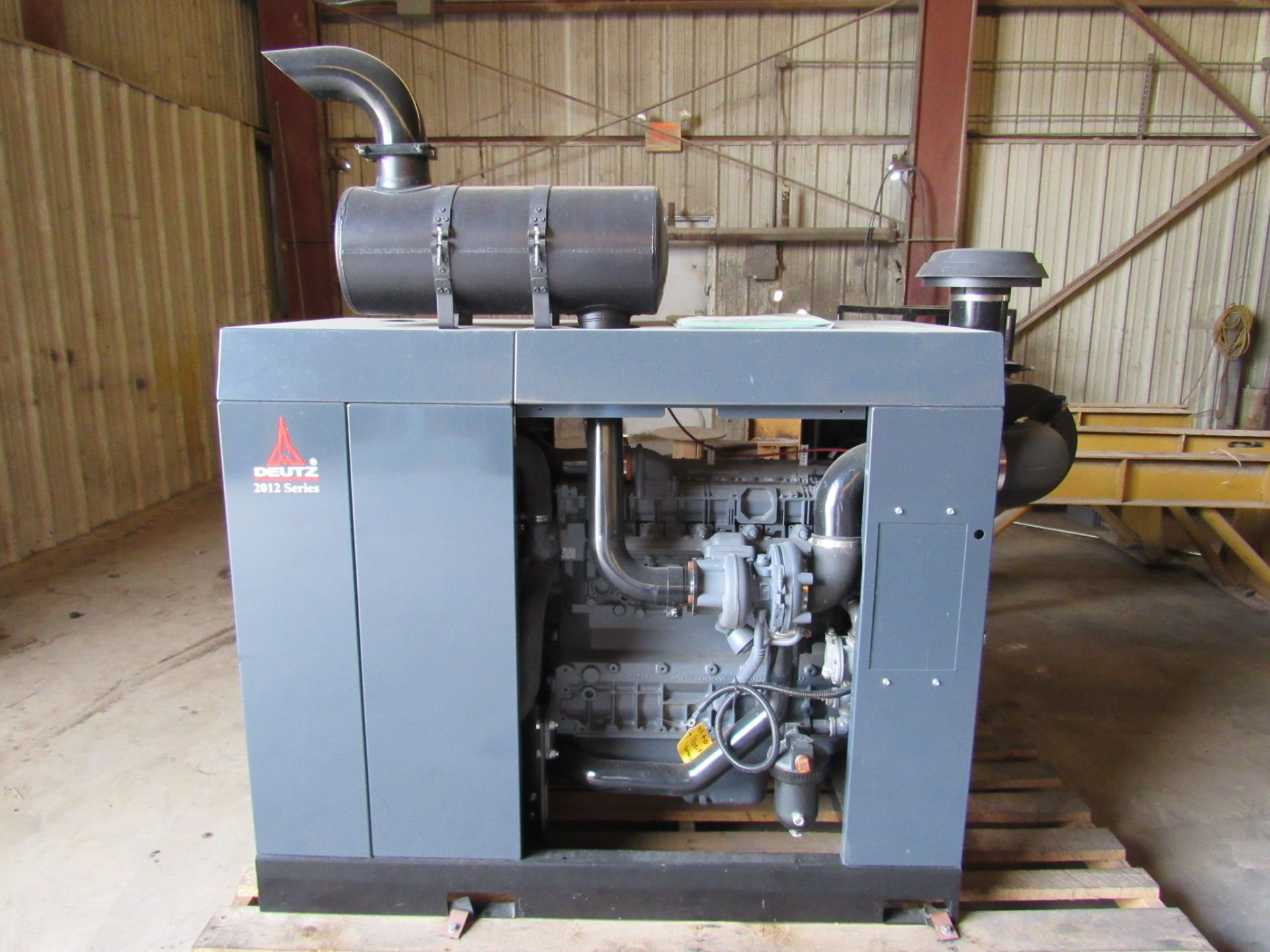 Deutz 197 HP Diesel Engine Power Unit