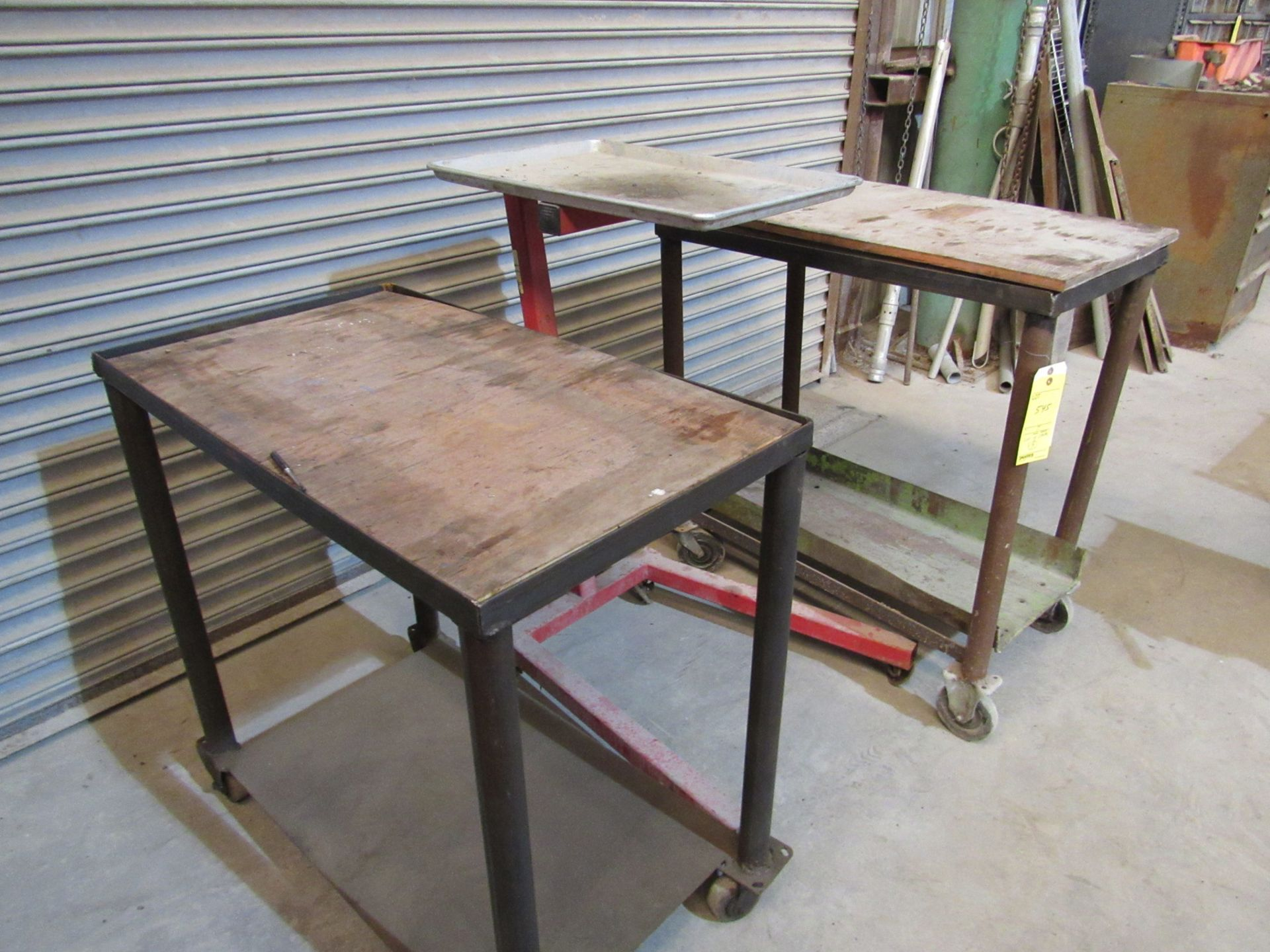 Lot of 3: Shop Carts - Image 2 of 2