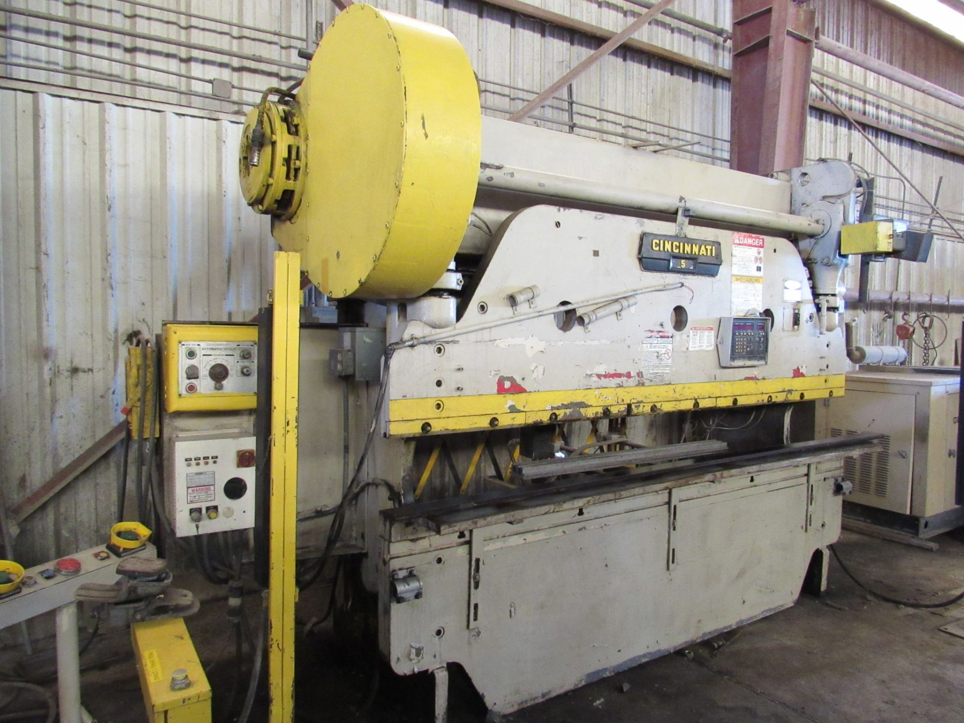 Cincinnati No. 5 Mechanical Press Brake - Image 2 of 5