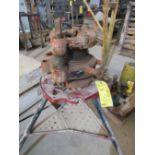 Ridgid Model 141 Pipe Threader on Stand