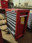 8 Drawer Rolling Craftsman Tool Box with Contents