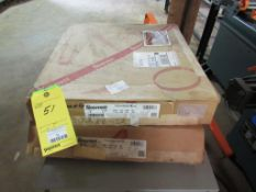 Lot of 2 Boxes: Starret Bandsaw Blades, Powerband M42