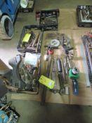 "Lot: Tooling, 3"" Boring Head, cutters, boring bars, drills, set-up tooling"