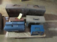 Lot: Tool Boxes - Assorted Sizes