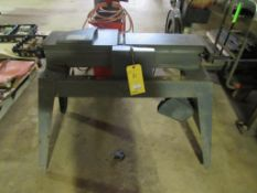"""Sears Craftsman Model 113.206932 6-1/8"""" Jointer-Planer on A-Frame Stand"""