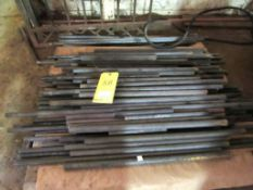 Lot: Assorted Material (solid rod, flat bar, and misc.)