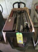 Keyseater Tooling on Cart