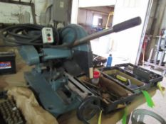 Chop Saw, Table Type with 5 HP Electric Motor