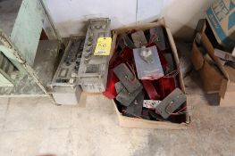 Lot of Assorted Elecrical Components with Storage Rack