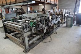 Welty-Way Products Sheet Metal Cut to Length Line