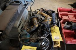 Assorted Power Drills and Grinders