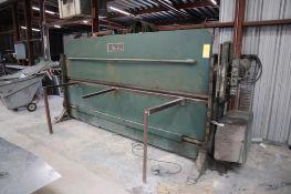 10' x 16 Ga. Engel Mechanical Press Brake