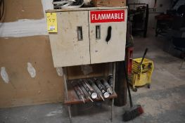 """Flammable Cabinet (Vented), 27"""" x 22"""" x 20"""" H, on Stand"""
