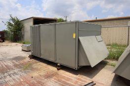 Trane Air Conditioning Unit, Model YCD181F4H0AA, new 2012, electrical: 460V/60Hz/3P, 350,000 BTU, S/