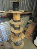 Lot: Assorted Spools of Wire
