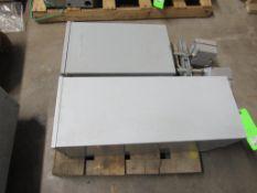 Lot of 2: GE Breaker Boxes