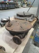 """Lot of 2: Parts: (1) Yuasa 8"""" Super Spacer; (1) Troyke 22"""" Rotary Table"""