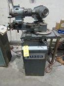 "Yuasa GX801 Grinder, Cup Wheel 5"" x 12"" x 1-1/4"", Straight Wheel 5"" x 1-1/2"" x 1-1/4"" S/N 5350"