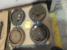 Lot of 4: Rotary Base for Vise