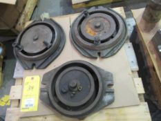 Lot of 3: Rotary Base for Vise